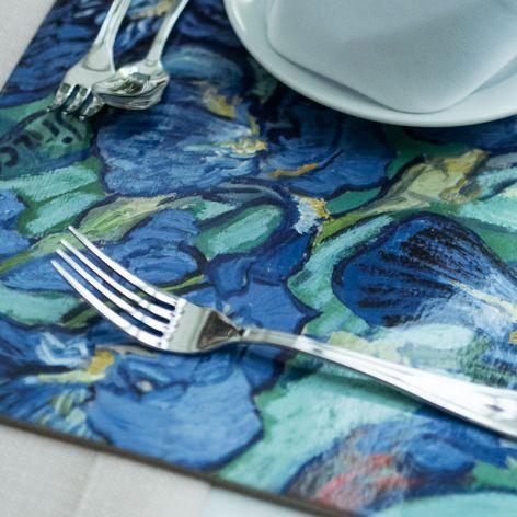 """Zestaw 4 dużych podkładek na stół, van Gogh """""""