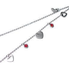 Alloys Collection - Line /Heart/ choker