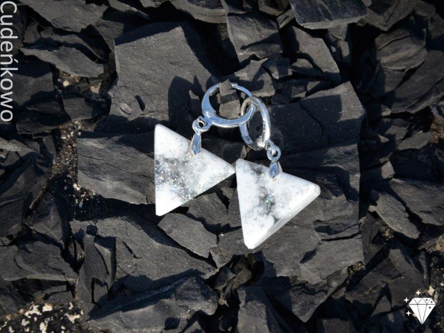 Zatopki trójkąty białe - 3