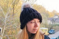 brązowa czapka dla niej, dla niego
