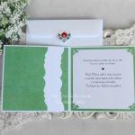 Ślubna kartka w kopercie 10 - null