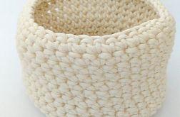 Koszyk 22x18cm sznurek bawełniany