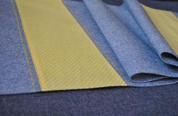 Filcowy bieżnik - żółte kropki