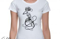 Wężowa - t-shirt damski - różne kolory