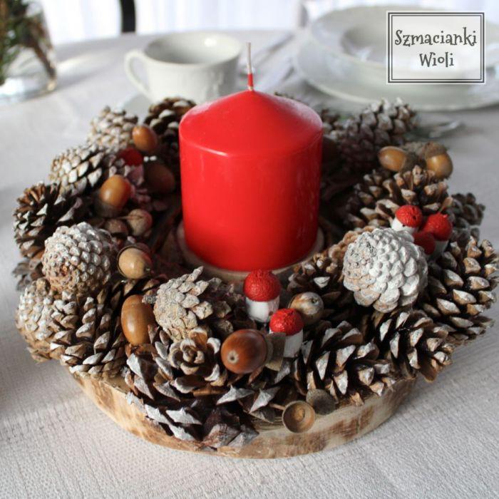 Świąteczny wianek 2