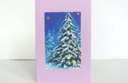 Kartka świąteczna - choinka 4