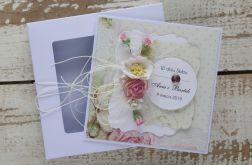 Kartka ślubna z personalizacją + pudełko b5