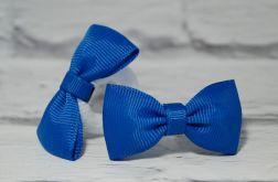 Niebieska kokardka do włosów. Zuzia.