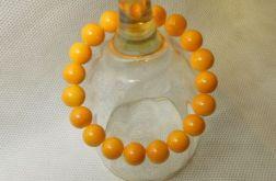 4.Bransoletka ze szklanych koralików 10mm