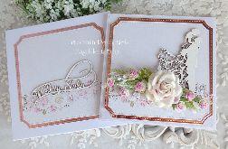 Kartka ślubna w pudełku 310