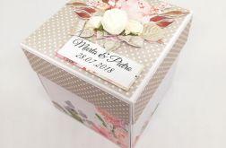 EXPLODING BOX Ślubny Piękny