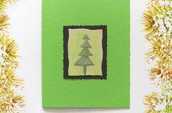 Kartka świąteczna minimalizm 45