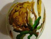 Kacze Jajeczko Malowane Różyczki