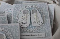 Zaproszenie Tiny Little Shoes