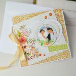 Letnia kartka ślubna