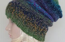 kolorowa czapka boho