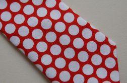 Krawat świąteczny - groszki