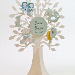 """Dekoracja na stół drzewo """"W dniu I urodzin"""""""