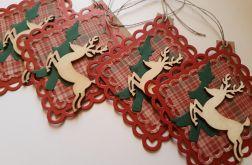Zawieszki świąteczne do prezentów 2