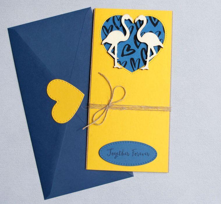 kartka ślubna - flamingi - slim2