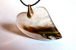 Kwarc fantomowy, kryształ z duchem, serce