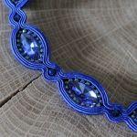 naszyjnik sutasz modrakowy