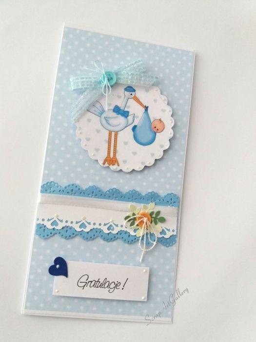 Gratulacje z okazji narodzin - kartka dla dziecka