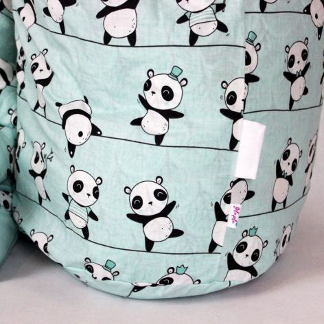Pościel do przedszkola i żłobka pandy