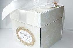 Pudełko dla Młodej Pary w brązach