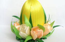 Jajko z tulipanami