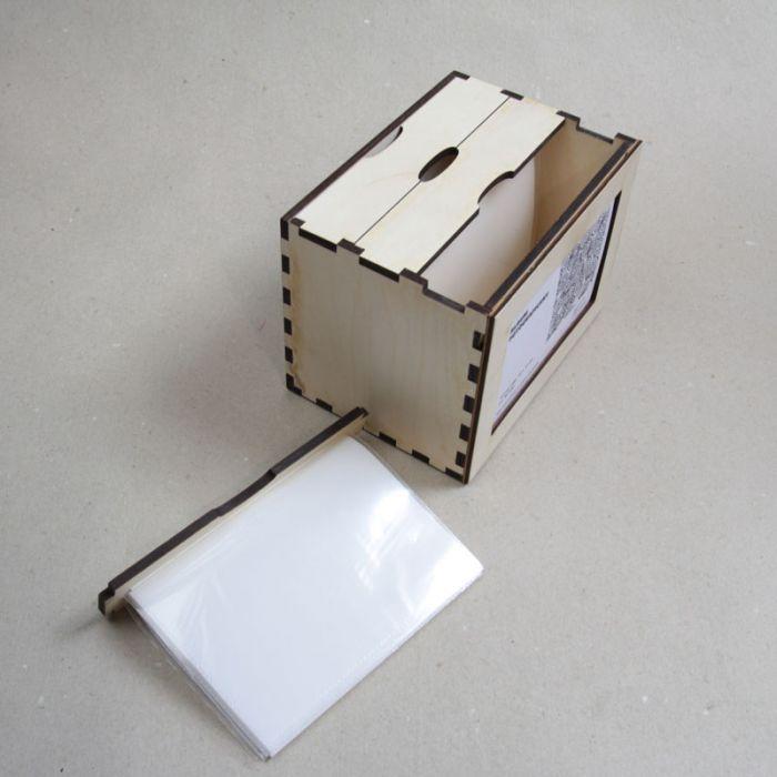 Drewniany album na zdjęcia - null