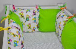 Modułowy ochraniacz do łóżeczka papugi