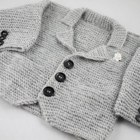 sweterek dziecięcy- marynarka