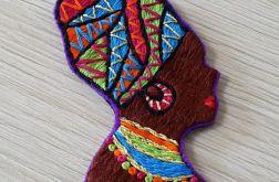 Broszka Afrykanka