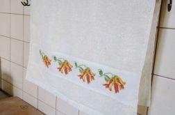 Ręcznik z kwiatami