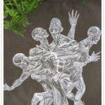 Ręcznie malowana bluza Melting Expectations -