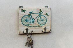 Wieszak Niebieski rower