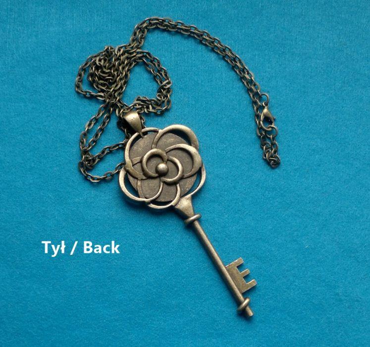 Naszyjnik-wisior Vintage, Duży klucz II