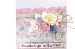 Kartka na ślub lub urodziny/imieniny - #655