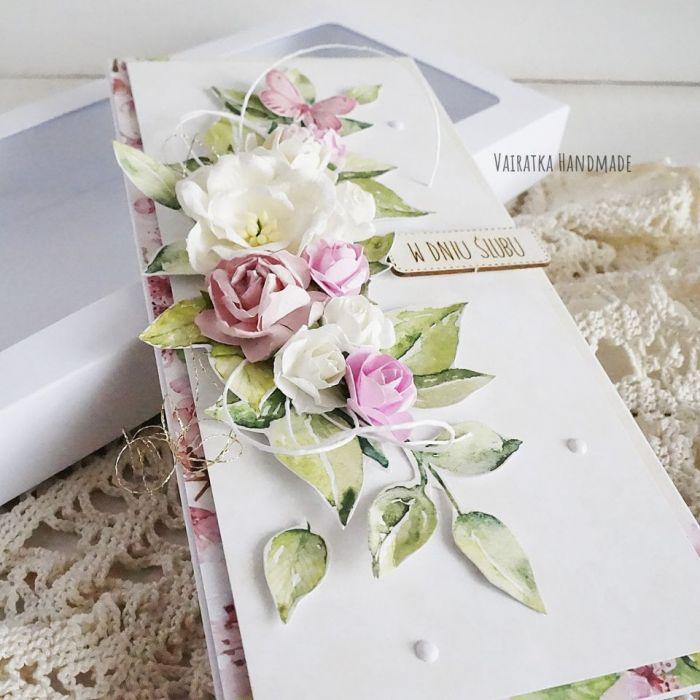 Kartka ślubna w pudełku, 503 -