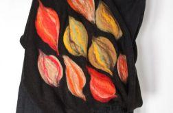komin filcowany handmade kolor