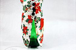 Świąteczny garniturek na butelkę 2