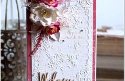 Kartka z kwiatami #20