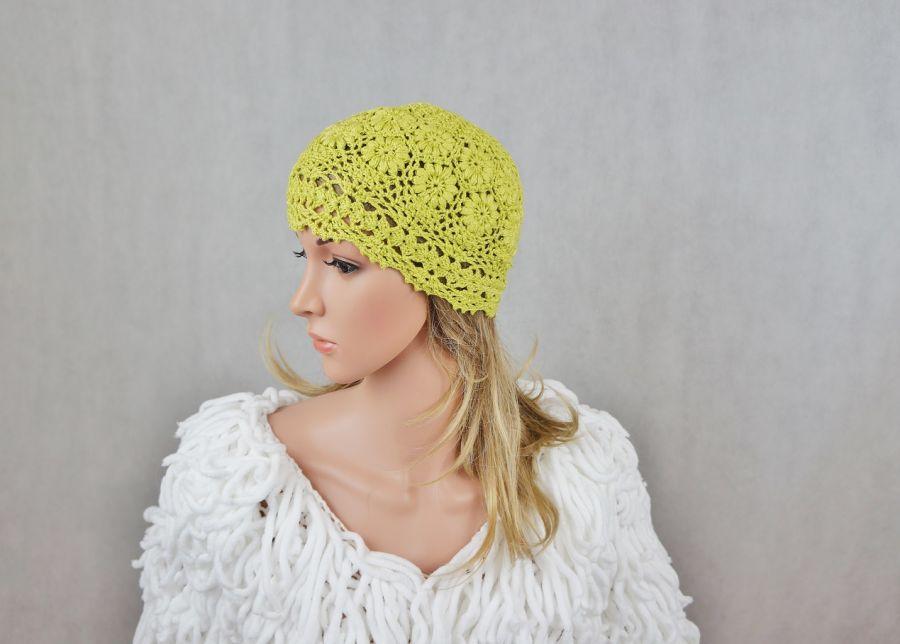 CZAPKA HANDMADE OLIWKA eL - modna czapka