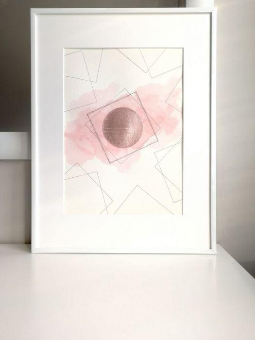 Obrazek/plakat geometryczny + RAMKA