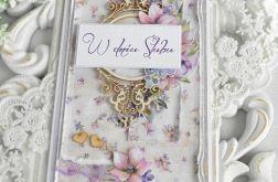 Ślubna kartka DL w pudełku 55