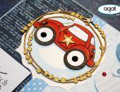 Kartka urodzinowa - dziecięca - samochodzik1