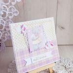 Kartka na Chrzest Daddy's Princess GOTOWA -