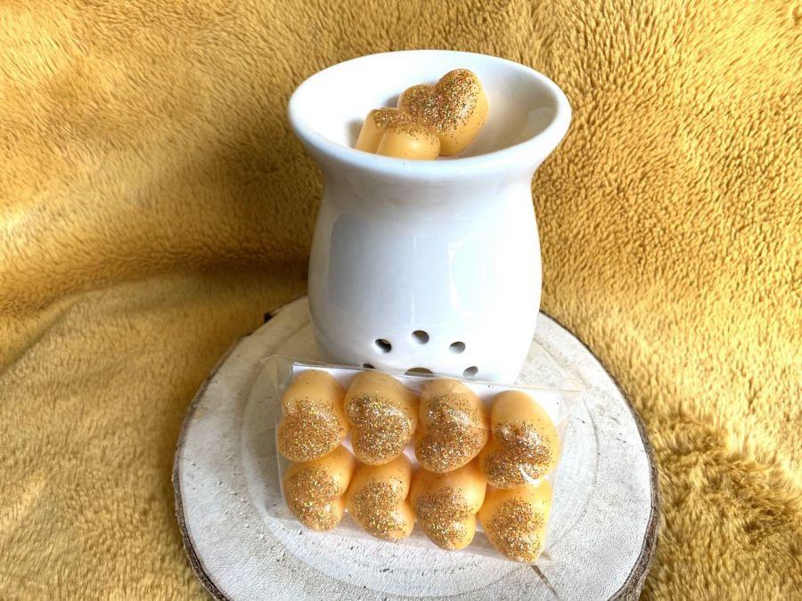 Karmelizowane nerkowce -wosk sojowy zapachowy