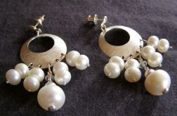 perły ze srebrem
